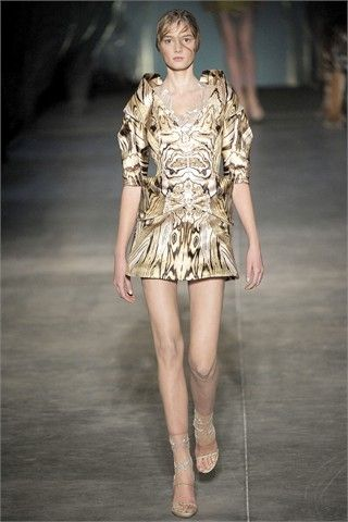 animal skin by alexander mcqueen moda donna