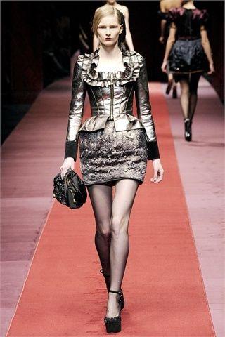 Le gonne a palloncino di Dolce e Gabbana per il 2010