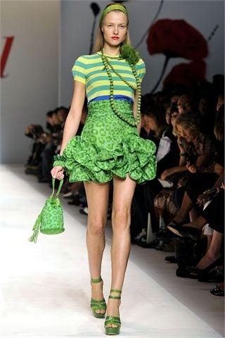 Vestitino da pomeriggio verde by blugirl