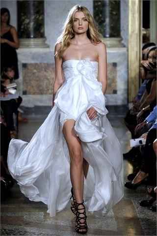 abito da sera bianco by emilio pucci 2010