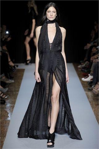 abito da sera nero con spacco by costume national - Cerca Moda 89fd3c4decb