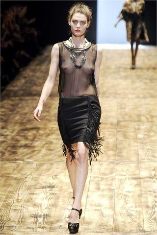 tubino nero nude look giambattista valli 2010