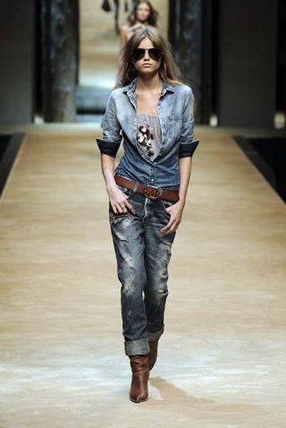 Pantaloni jeans donna by Dolce e Gabbana
