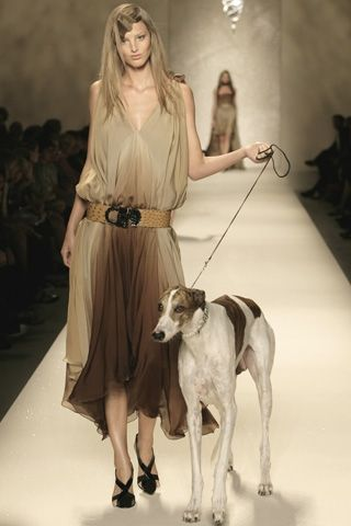 Trussardi moda donna primavera 2008