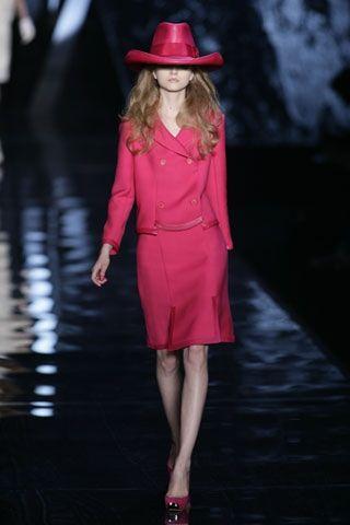 Ispirazioni anni Sessanta per Dior donna 2008-2009