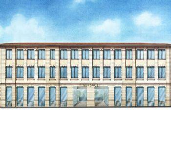 Un palazzo prezioso per la sede della maison Versace