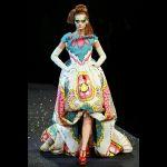 Christian Dior modello haute couture PE 2008